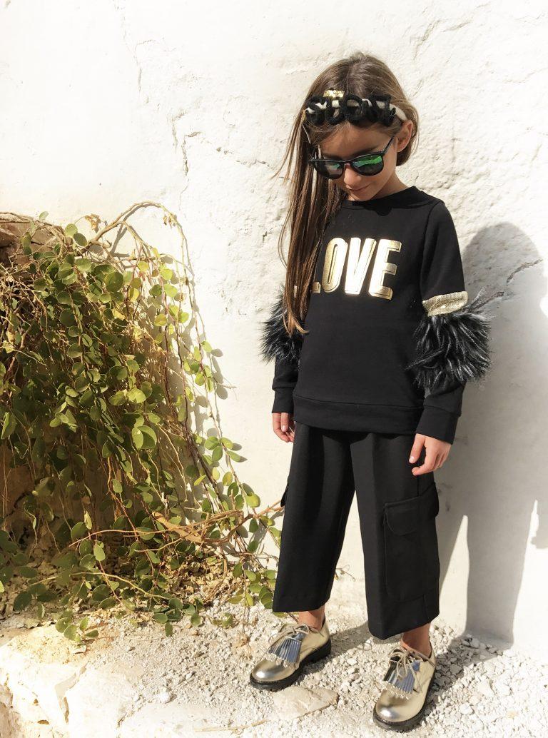 moda bambine T Love