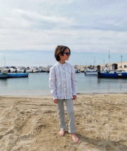 camicia coreana bambino