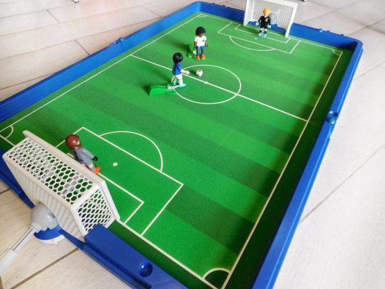 campo da calcio portatile Playmobil