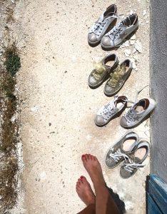 scarpe in casa
