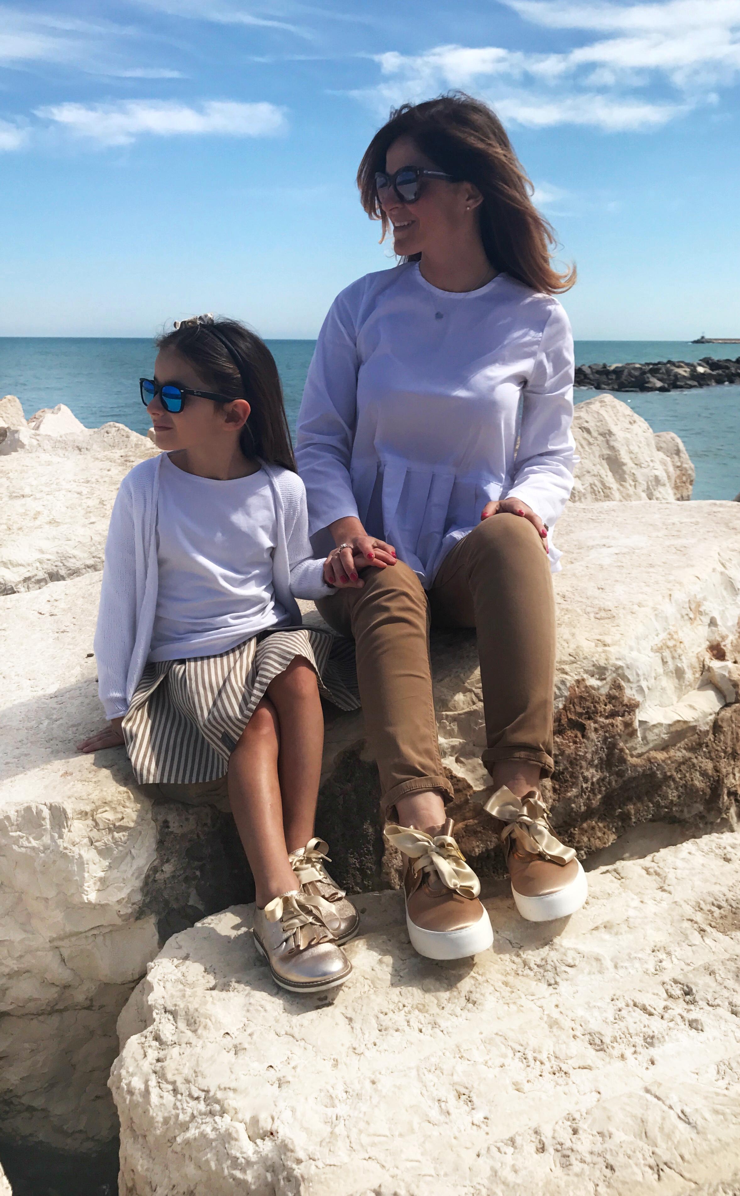 Scarpe mamma e figlia